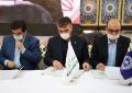 بانک کارآفرین و بنیاد برکت تفاهمنامه امضا کردند
