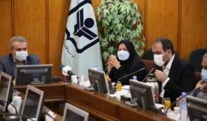 حضور وزیر صمت در مراسم تکریم و معارفه رئیس موسسه مطالعات و پژوهش های بازرگانی